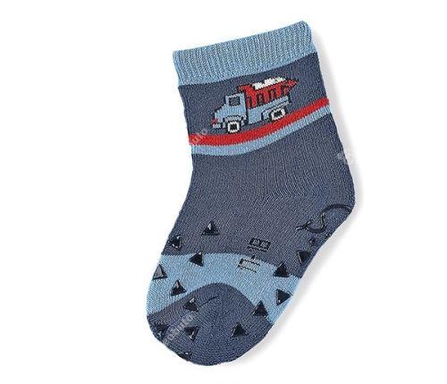 Protišmykové ponožky Sterntaler - LKW nachtblau