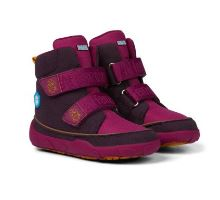 Affenzahn Winter Boots Bird Purple