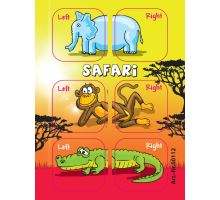 Stickers Edushoe - SAFARI