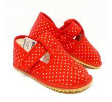Beda papučky Slim Red Dot