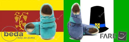 Beda Barefoot Sneakers vs. Fare Bare Sneakers