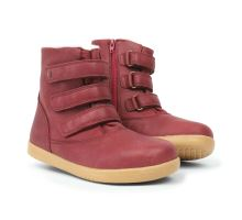 Bobux Aspen Boot Dark Red Kid+