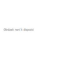 Bavlnené okrúhle šnúrky tenké - čierne 45 cm