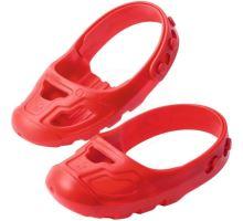 Big Ochranné návleky na topánočky - červené